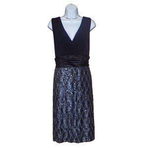 Dressbarn Sequin Embellished Dress